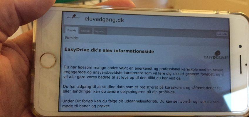 Elevadgang.dk – Din adgang til køreskolen